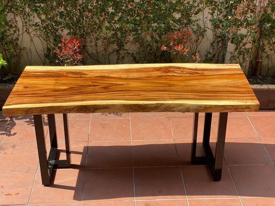 Báo giá bàn gỗ me tây
