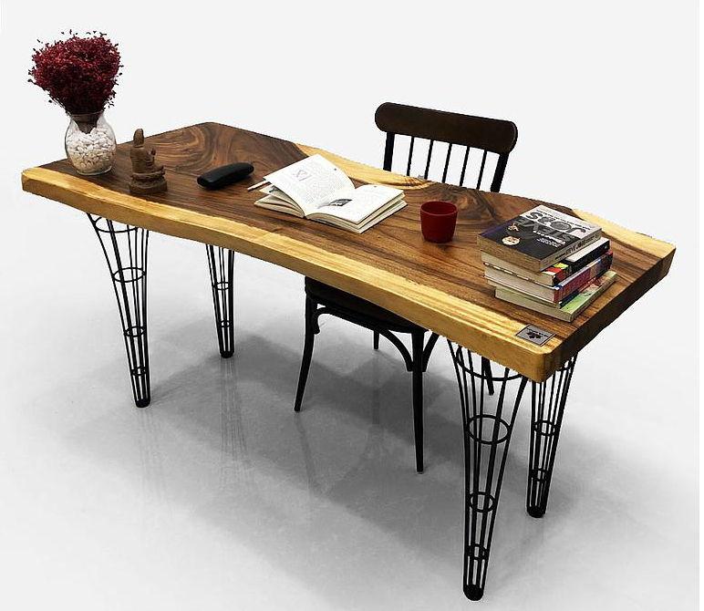 Cách bố trí bàn làm việc gỗ me tây hợp phong thủy