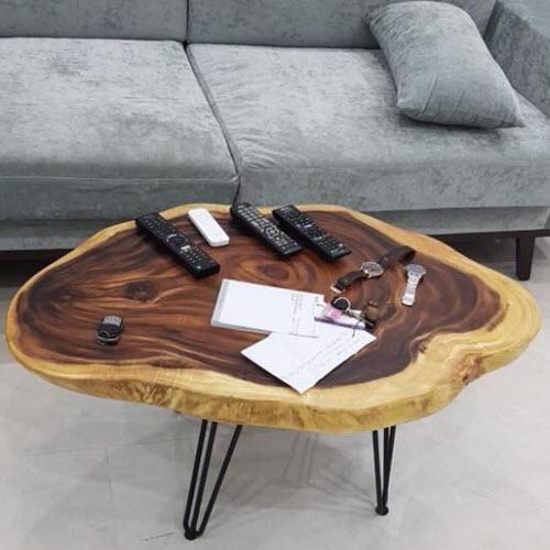 Sofa gỗ me tây hiện đại