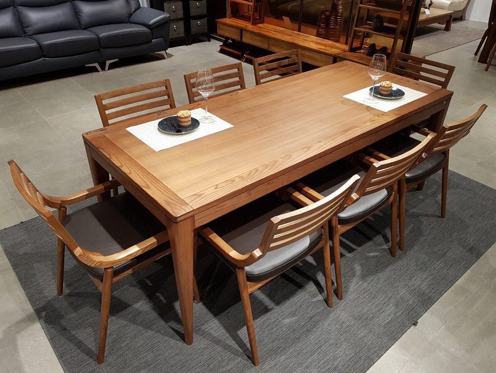 Chọn bàn ăn phù hợp không gian nội thất
