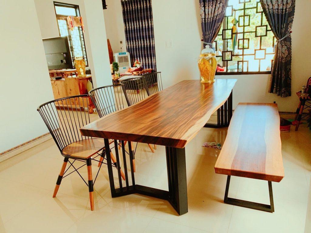 Dấu hiệu nhận biết bàn gỗ nguyên tấm kém chất lượng