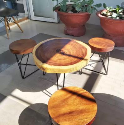 Vì sao nên sử dụng bàn gỗ nguyên tấm?
