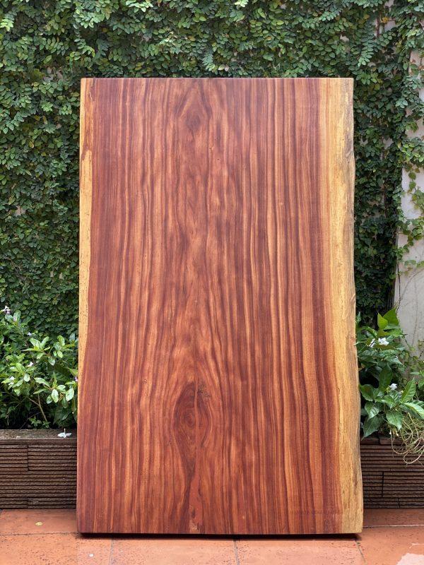 bàn gỗ cẩm hồng nguyên tấm 1m59