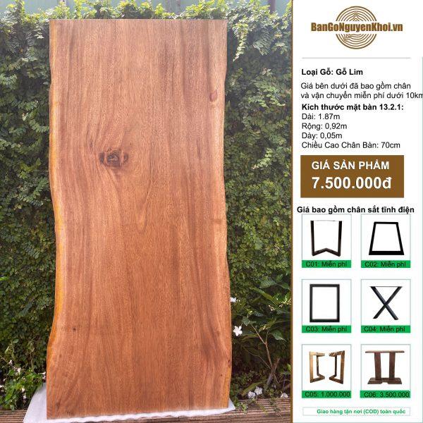 gỗ Lim nguyên tấm