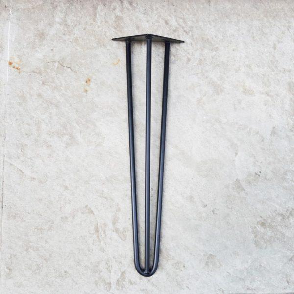 chân sắt hairpin 3 thanh sắt