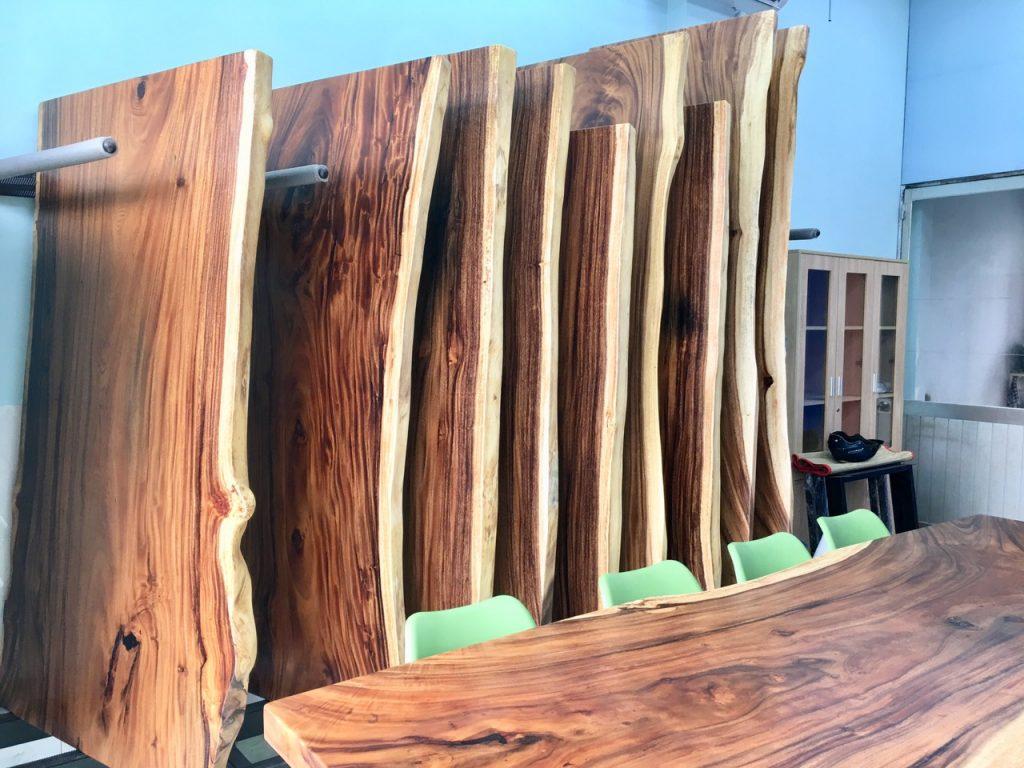 Địa chỉ bán bàn gỗ me tây nguyên tấm giá rẻ uy tín