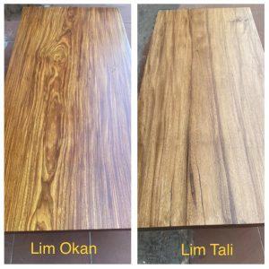 So Sánh Bàn Gỗ Lim Okan (Lim vàng) và Bàn Gỗ Lim Tali (Lim nâu)